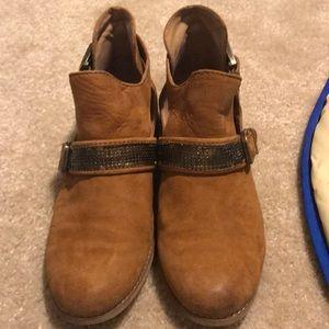 Gianni Binni brown ankle boots LEATHER